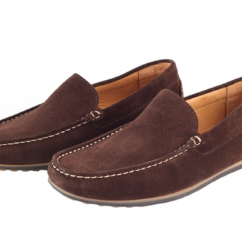 Moccasins Algarve Brown Suede