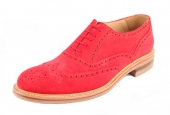 London Langham Red Suede  - 3