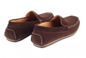 Moccasins Algarve Brown Suede  - 2