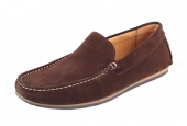 Moccasins Algarve Brown Suede  - 3
